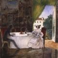 Григорий Гагарин «Завтрак в пригородном дворце» 1832-1833 Государственный Русский музей.