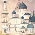Григорий Гагарин «Купола собора и церквей» 1833 Государственный Русский музей.