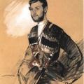 Григорий Гагарин «Казак Федюшкин» 1842 Государственный Русский музей.