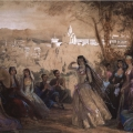 Григорий Гагарин «Лезгинка. Тифлис» 1840 Государственный Русский музей.