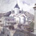Григорий Гагарин «Вид Тифлиса» 1840-е Государственный Русский музей.