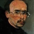 """1. Гавриляченко Сергей """"Автопортрет"""" 1985"""