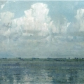 """41. Гавриляченко Сергей """"Облака. Озеро Неро"""" 1999"""