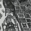 """6. Глебова Татьяна """"Карело-финский эпос """"Калевала"""", издательство Academia. Заставка к руне 21"""" 1932 Бумага, тушь, перо 12х5,5 ГМИИ имени А.С.Пушкина"""