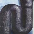 "27. Гросицкий Андрей ""Труба"" 1995 Холст, масло 120х100"