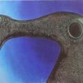 """29. Гросицкий Андрей """"Швейная машина"""" 1996 Дерево, холст, масло 95х105"""