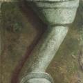 """31. Гросицкий Андрей """"Произведение"""" 1996 Холст, масло 100х95"""