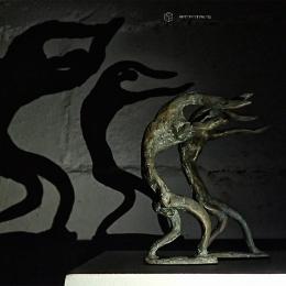 """Группа """"КУБ"""". Полшага в сумерки. Предоставлено: Музей современного искусства Эрарта, Санкт-Петербург."""