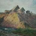 """1. Гун Карл """"Обрыв"""" 1862 Национальный Художественный музей, Рига"""