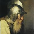 "10. Гун Карл ""Старый воин времен гугенотов"" 1870 Холст, масло 60,5х50 Государственная Третьяковская галерея"