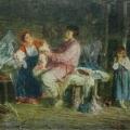 """14. Гун Карл """"Отвергнутая"""" 1872 Национальный Художественный музей, Рига"""