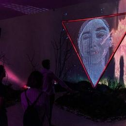 Hi, Human! Портал в будущее. Предоставлено: Центр современного искусства МАРС.