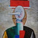 """Игорь Макаревич """"Портрет Пиноккио"""" 2006. Предоставлено: Московский музей современного искусства."""