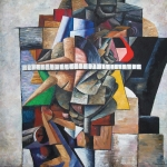 """Игорь Макаревич """"Портрет Буратино"""" 2005. Предоставлено: Московский музей современного искусства."""