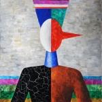 """Игорь Макаревич """"Портрет Буратино"""" 2003. Предоставлено: Московский музей современного искусства."""