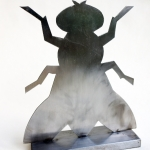 """Елена Елагина """"Железная муха"""" 2002. Предоставлено: Московский музей современного искусства."""