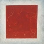 """Игорь Макаревич """"Красный квадрат"""" 2004. Предоставлено: Московский музей современного искусства."""