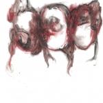 """Ирина Петракова """"Три головы"""" 2020. Предоставлено: Московский музей современного искусства."""