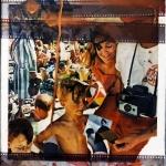 Костя Митенёв «На пляже» Из серии голографий, 1993. Предоставлено: Центр современного искусства Сергея Курёхина.