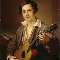 """Тропинин В.А. """"Гитарист"""" 1832. Государственная Третьяковская галерея. Предоставлено: Государственная Третьяковская галерея."""