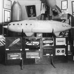 Выставка Межпланетных аппаратов 1927 года. Собрание Музея Космонавтики. Предоставлено: Музей Космонавтики.