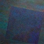 "Александр Юликов ""Черное на черном в манере паунтилизма"" 2007. Предоставлено: East Meets West Gallery."