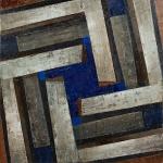 """Диана Воуба """"Динамическая симметрия. 09"""" 2010-2011. Предоставлено: East Meets West Gallery."""