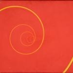 """Инфанте-Арана Ф. """"Динамическая спираль. Возрастающая энергия красного пространства"""" 1964. Собрание: Государственная Третьяковская галерея. Предоставлено: Государственная Третьяковская галерея."""