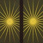 """Заневская (Сапгир) Р.И. """"Две звезды"""" 1962-1963. Собрание: Государственная Третьяковская галерея. Предоставлено: Государственная Третьяковская галерея."""