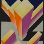 "Стенберг Г.А., Стенберг В.А. ""Цветоконструкция"" 1920-е. Собрание: Государственная Третьяковская галерея. Предоставлено: Государственная Третьяковская галерея."