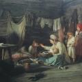 """16. Лемох Карл """"Выздоравливающая"""" 1889 Холст, масло 67х83 Приморская картинная галерея, Владивосток"""