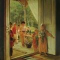 """19. Лемох Карл """"Лето (С поздравлением)"""" 1890 Холст, масло 83,5х67 Государственный Русский музей"""