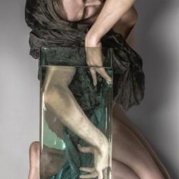 """Лиза Эшва """"Вода"""" 2020 ©Лиза Эшва. Предоставлено: ТК """"Галерея"""" - Печатники."""