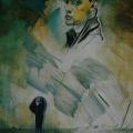 """1. Лизак Израиль """"Автопортрет"""" 1933 Холст, масло 141х106 Государственный Русский музей"""
