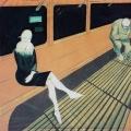 """12. Лизак Израиль """"Ночной трамвай"""" 1929 Бумага, темпера, графитный карандаш 139х70 Государственный Русский музей"""