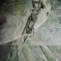 """14. Лизак Израиль """"Камни (Эскиз)"""" 1930 Холст, масло 151х138 Государственный Русский музей"""