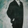 """15. Лизак Израиль """"Портрет отца"""" 1932 Холст, масло 210х133 Государственный Русский музей"""