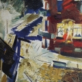 """16. Лизак Израиль """"Ночной этюд"""" 1933 Холст, масло 106х66 Государственный Русский музей"""