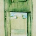 """23. Лизак Израиль """"Комната в Тилля-Кари. Самарканд""""  1937"""