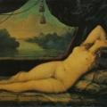 """6. Майков Николай """"Венера (Лежащая женщина)"""" Около 1836 Холст, масло 117,5х159 Государственный Русский музей"""