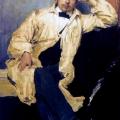 Филипп Малявин «Портрет художника Константина Андреевича Сомова» 1895 Государственный Русский музей.