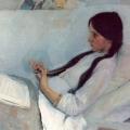 Филипп Малявин «Портрет Елизаветы Мартыновой» 1897 Государственный Русский музей