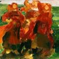 Филипп Малявин «Смех. Эскиз» 1898