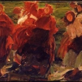 Филипп Малявин «Смех» 1899 Международная галерея современного искусства Ка'Пезаро, Венеция.