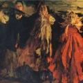 Филипп Малявин «Три бабы» 1902 Центр Помпиду, Париж.