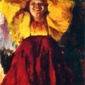 Филипп Малявин «Баба в желтом» 1903 Нижегородский художественный музей.