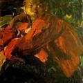 Филипп Малявин «Девочка» 1910-е Художественный музей, Днепр.