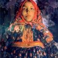 Филипп Малявин «Верка» 1913 Государственный Русский музей.