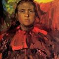 Филипп Малявин «Баба» 1916 Национальный художественный музей Республики Беларусь, Минск.
