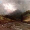 """22. Мещерский Арсений """"Альпийская река"""" 1870-е Частное собрание"""